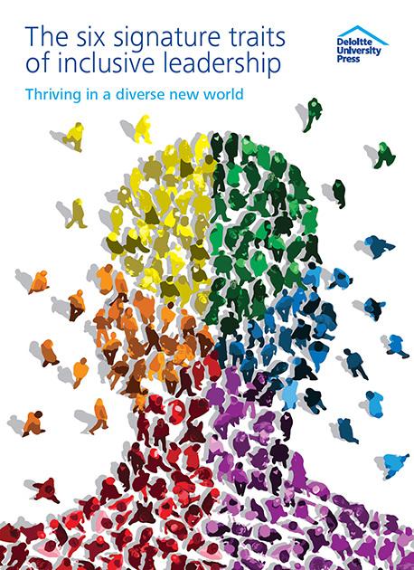 Leadership >> Inclusive Leadership - Daniel Hertzberg Illustration
