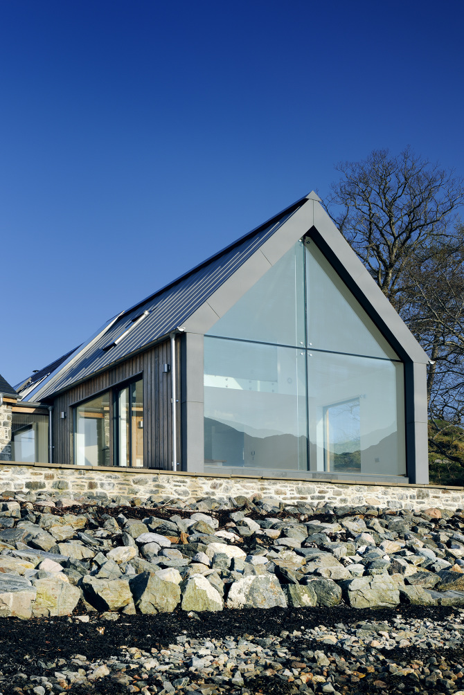 Loch duich rural design architects isle of skye and for In house architect